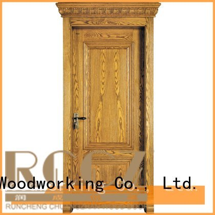 s038 x019 pp016 pp003t Runcheng Woodworking solid wood composite doors