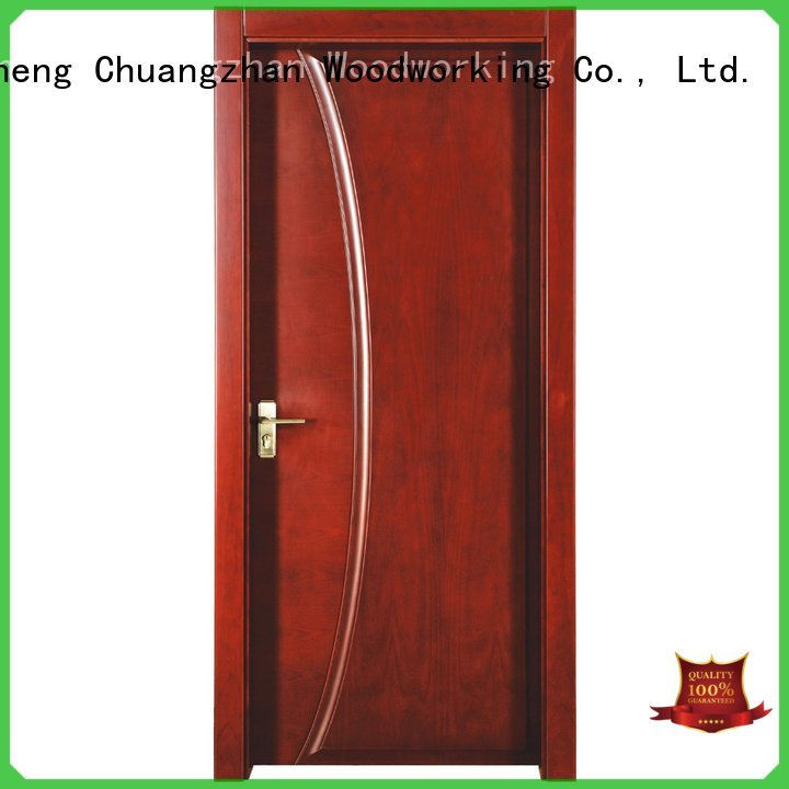 composited z002p Runcheng Woodworking solid wood bedroom composite door