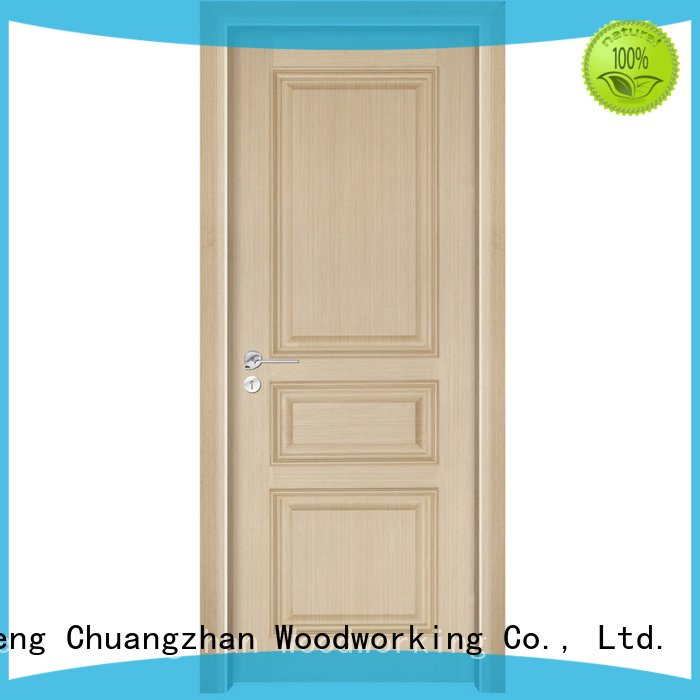 gk001 solid wood composite doors Runcheng Woodworking solid wood bedroom composite door