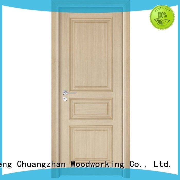 gk001 solid wood composite doors Runcheng Woodworking solid wood bedroom composite door