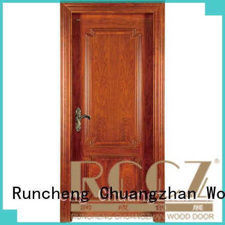 Hot solid wood bedroom composite door x019 x023 k007 Runcheng Woodworking Brand