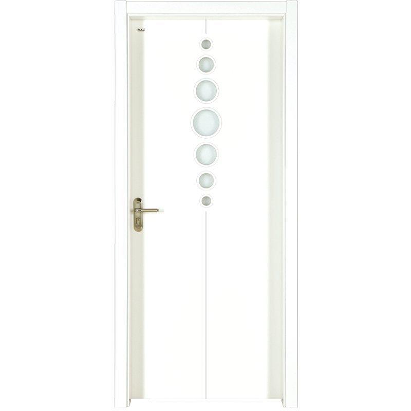 PP027  Internal white MDF composited wooden door