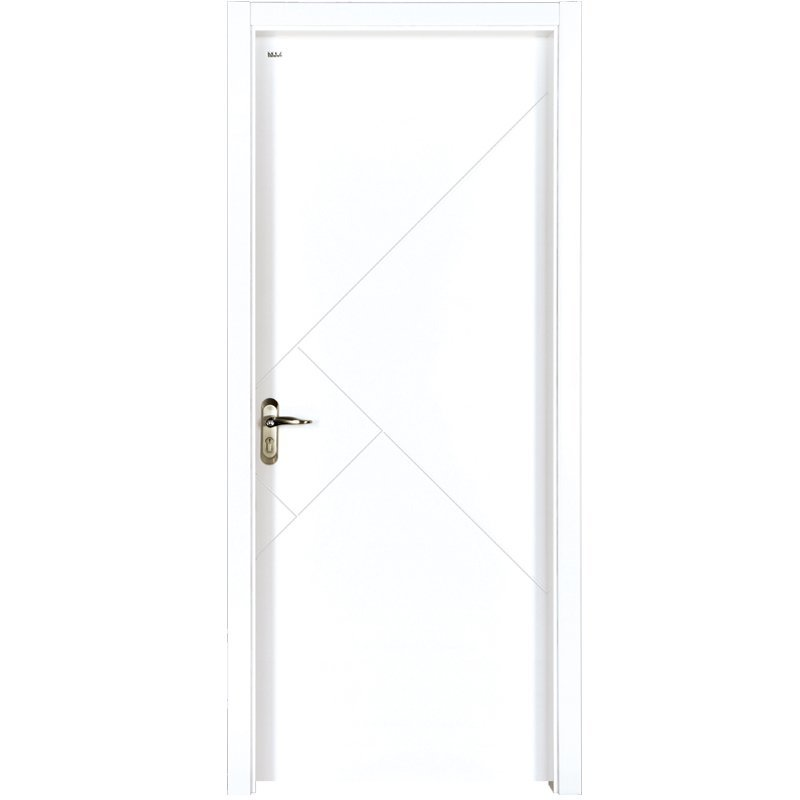 PP028  Internal white MDF composited wooden door