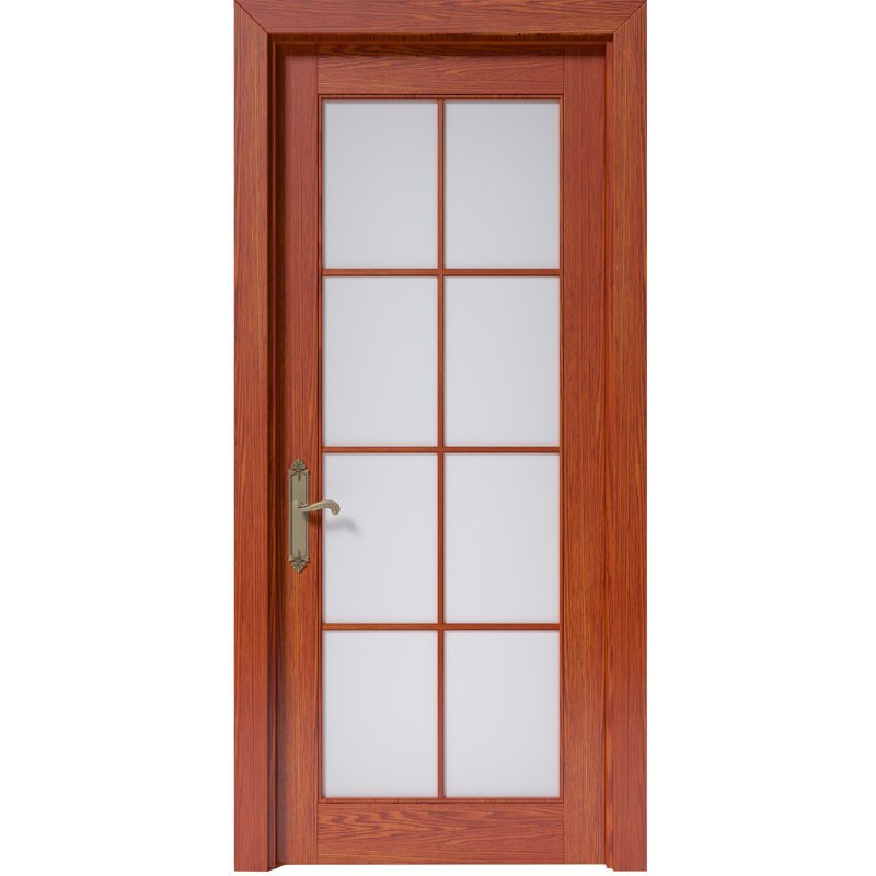 CK010 Interior veneer composited modern design wooden door