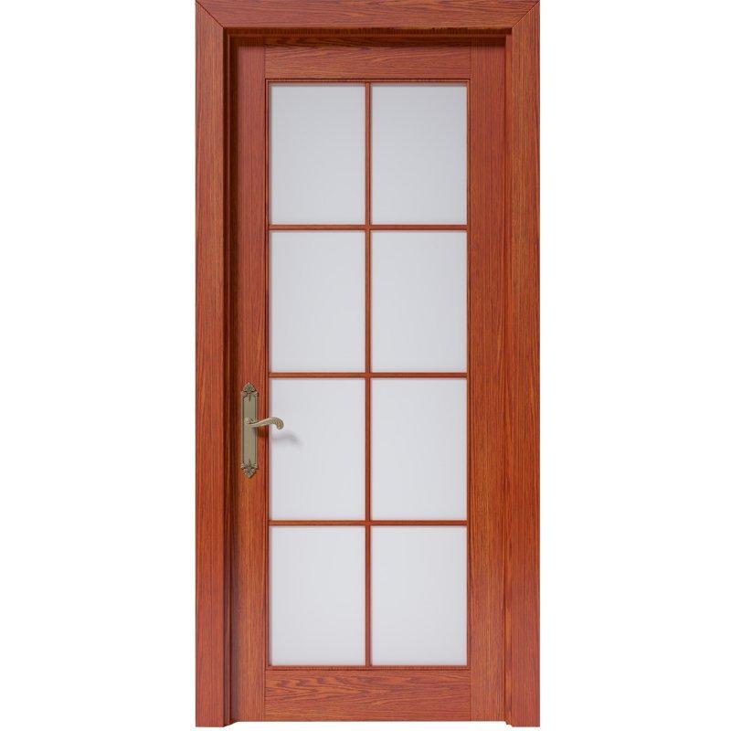 CK010 Interior veneer composited modern design wooden door