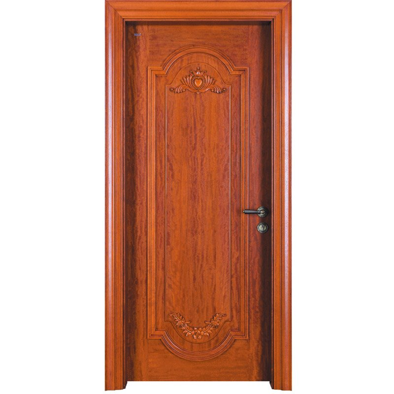 D024  Interior veneer composited modern design wooden door