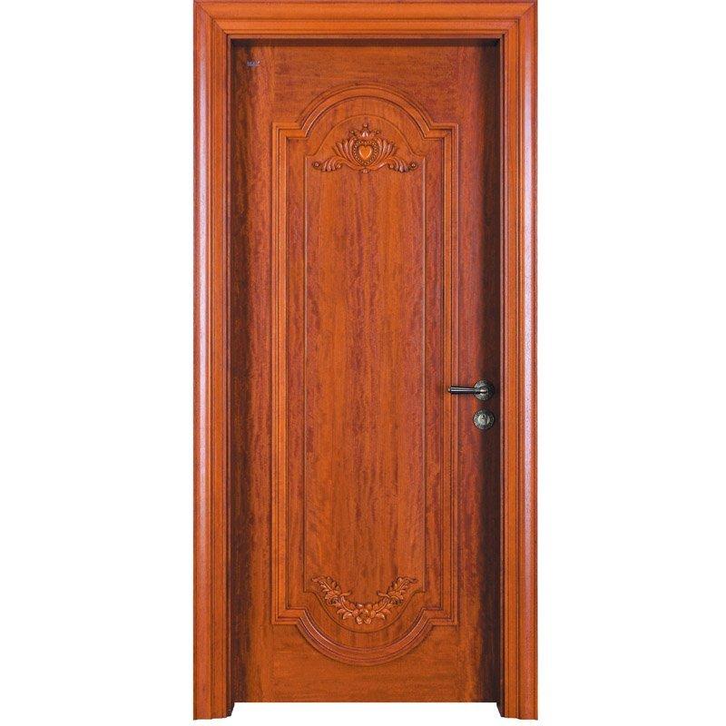 D024  Interior veneer composited modern design wooden door