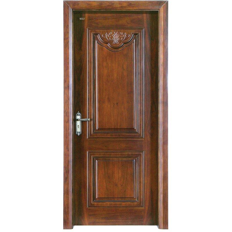 K002  Interior veneer composited modern design wooden door