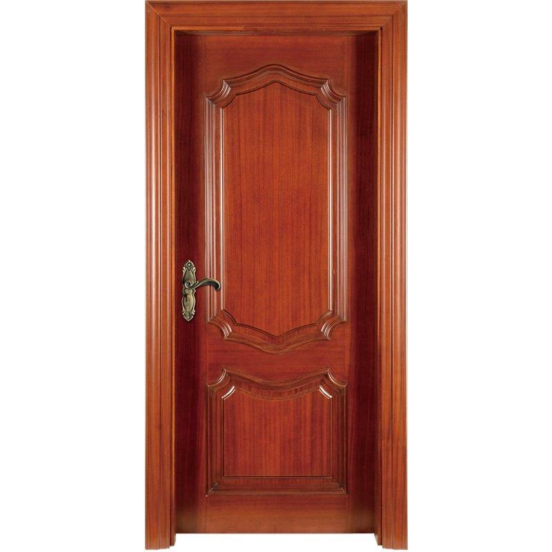 K007  Interior veneer composited modern design wooden door