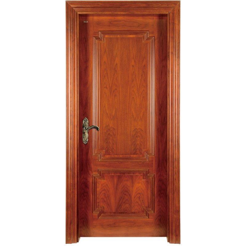 K009 Interior veneer composited modern design wooden door