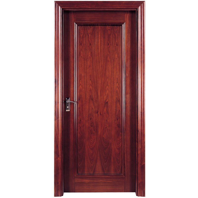 PP001  Interior veneer composited modern design wooden door