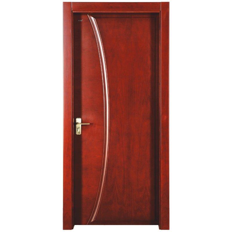 PP022 Interior veneer composited modern design wooden door