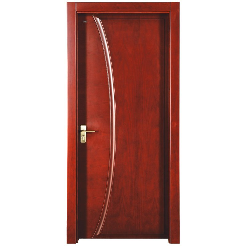 PP022 Interior veneer composited modern design wooden door