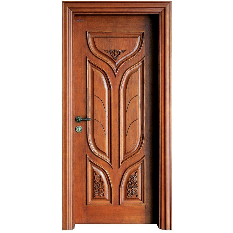 S027 Interior veneer composited modern design wooden door