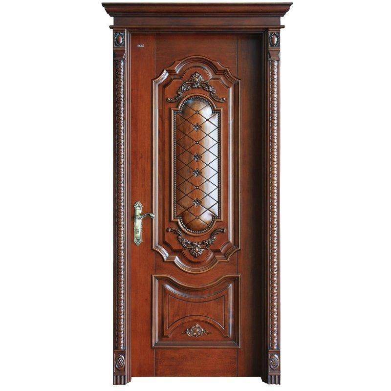 S041Y Interior veneer composited modern design wooden door