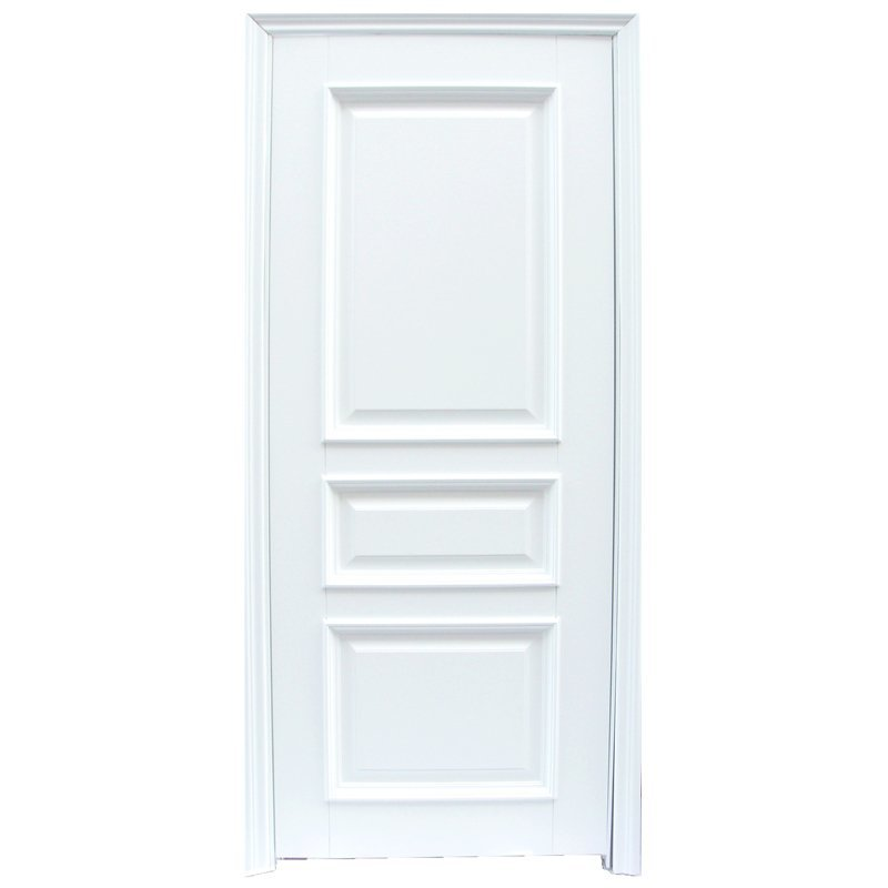 X044 Interior veneer composited modern design wooden door