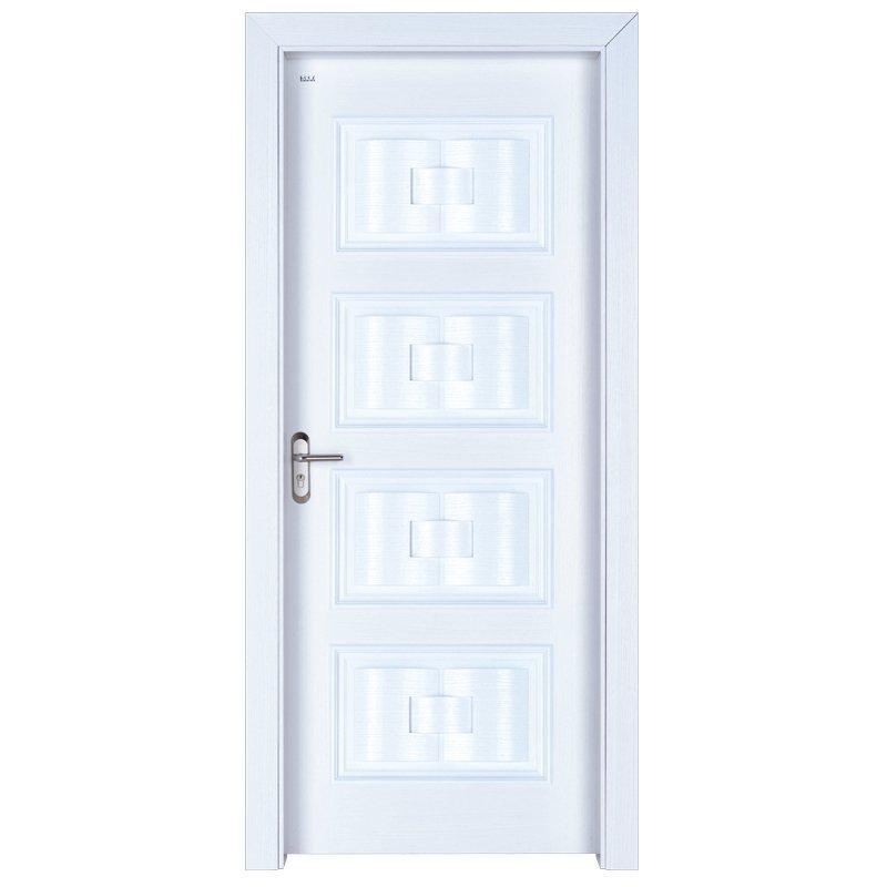 X046 Interior veneer composited modern design wooden door
