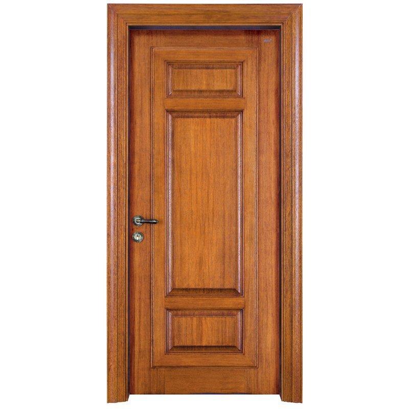 X052 Interior veneer composited modern design wooden door