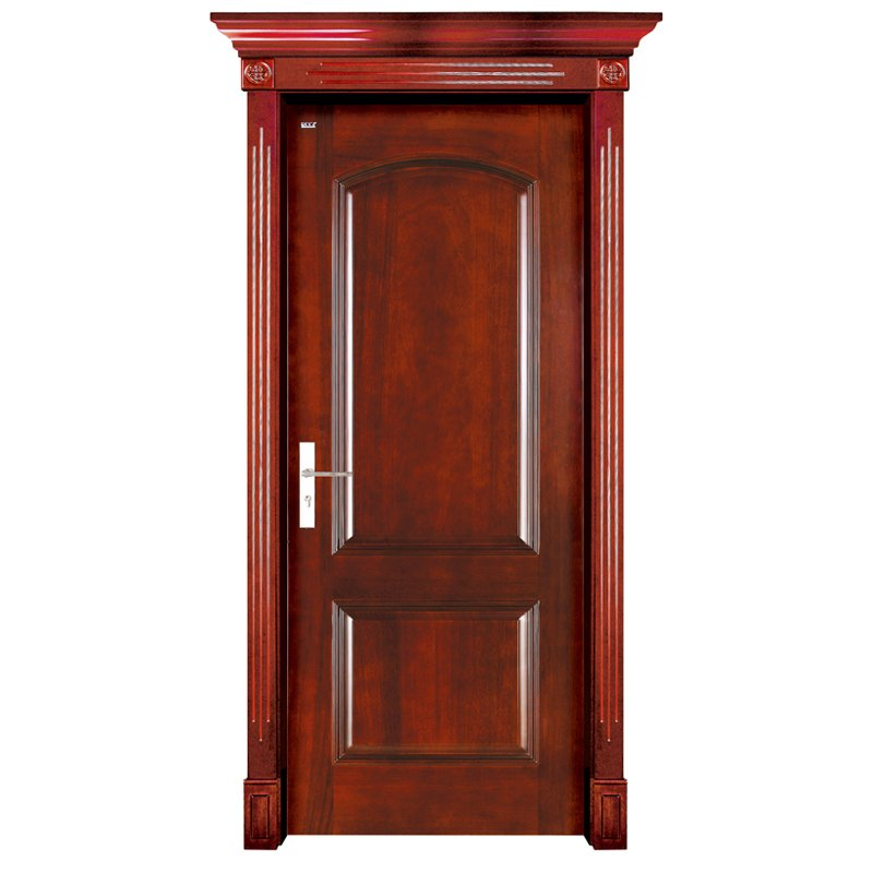 S001 Interior pure solid wooden door