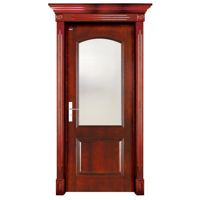 S001-2  Interior pure solid wooden door