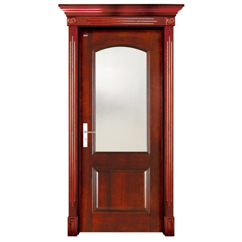 S001-2  Interior pure solid wooden door