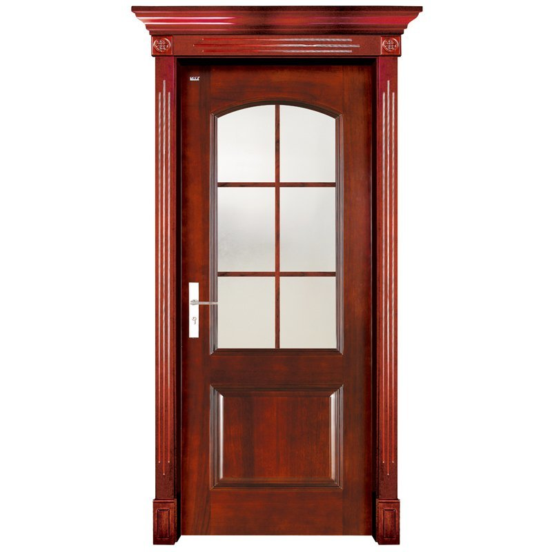 S001-3 Interior pure solid wooden door