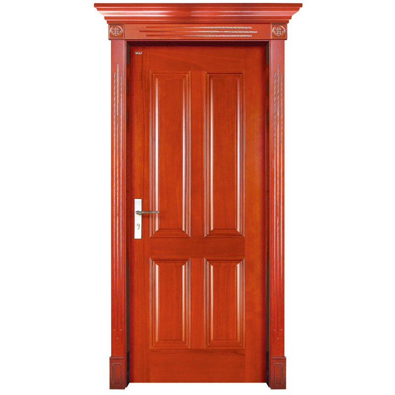 S002 Interior pure solid wooden door