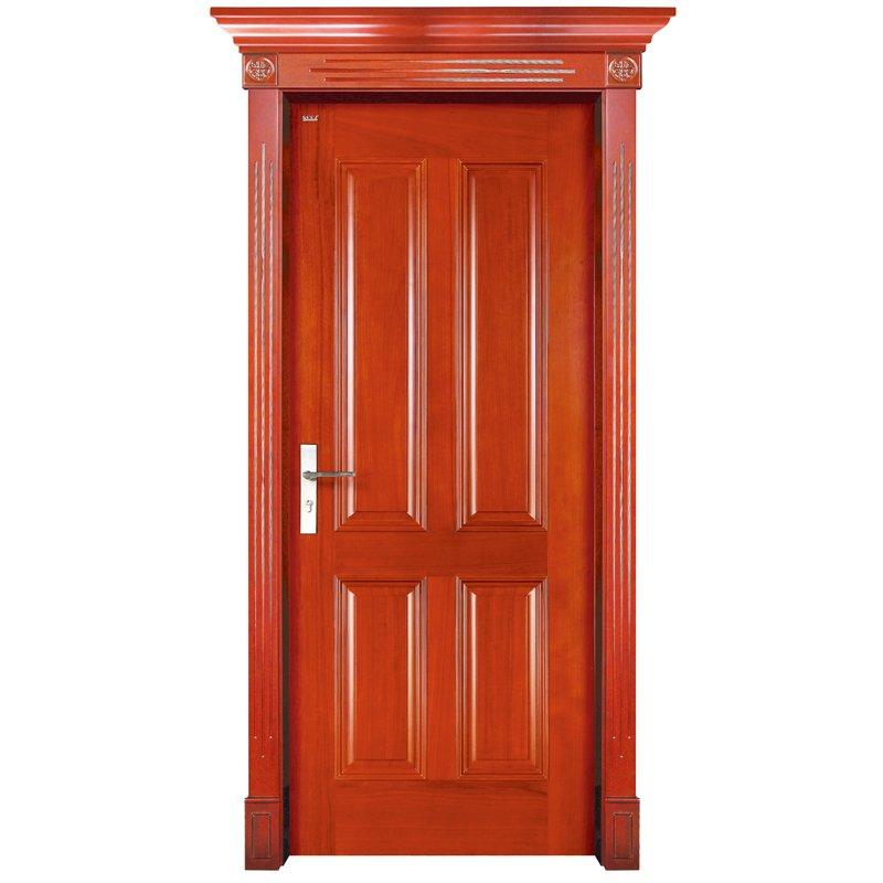 S002 Interior pure solid wooden door