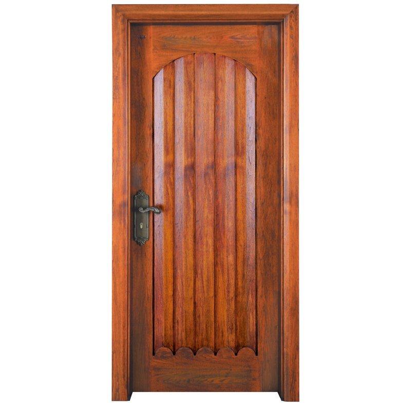 S033Y Interior pure solid wooden door