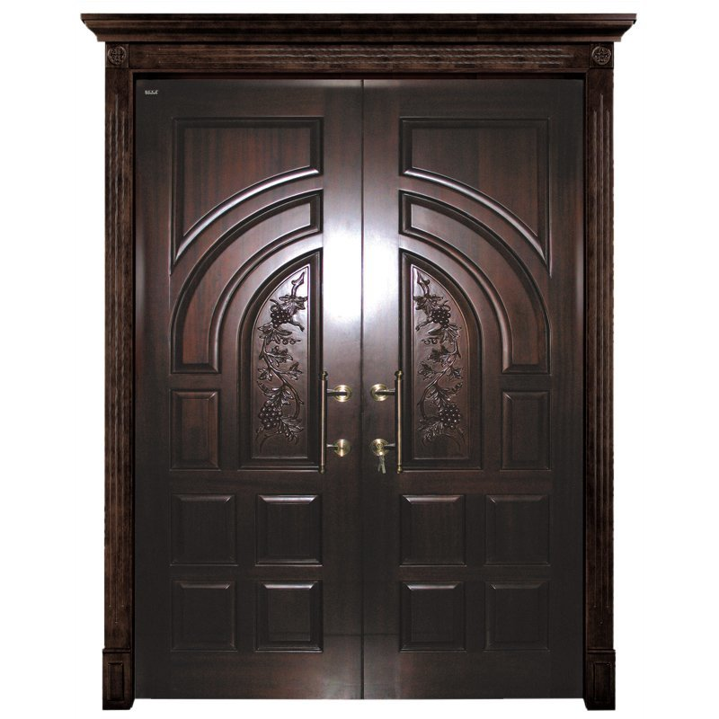 D005Y-0 Interior pure solid wooden door