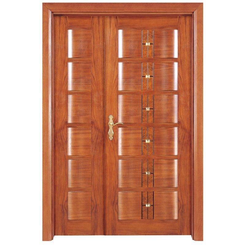 X019-1 Interior veneer composited modern design wooden door