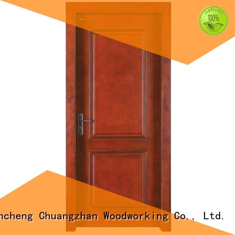 Runcheng Woodworking Brand wooden solid solid wood composite doors modern design