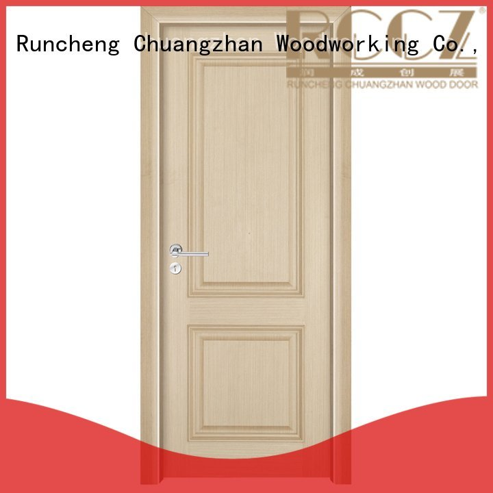solid wood bedroom composite door pure composited solid Runcheng Woodworking