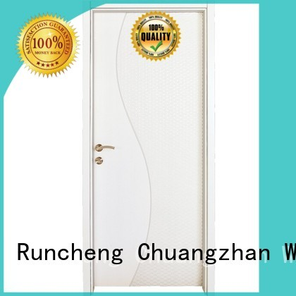 Quality Runcheng Woodworking Brand composited internal mdf interior doors
