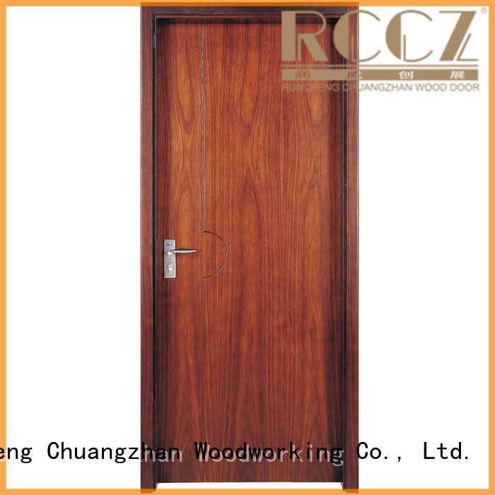 veneer x052 solid wood composite doors s039 Runcheng Woodworking