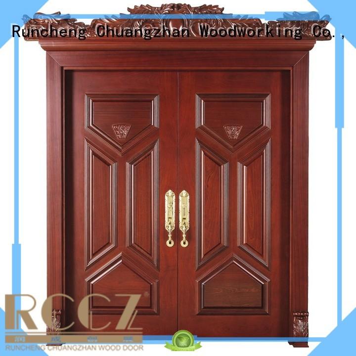 hot sale                                   interior Wholesale double interior double doors Runcheng Woodworking Brand