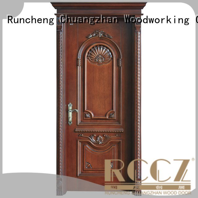 k002 x036 solid wood bedroom composite door Runcheng Woodworking