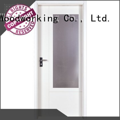 internal white mdf composited wooden door composited mdf interior doors Runcheng Woodworking