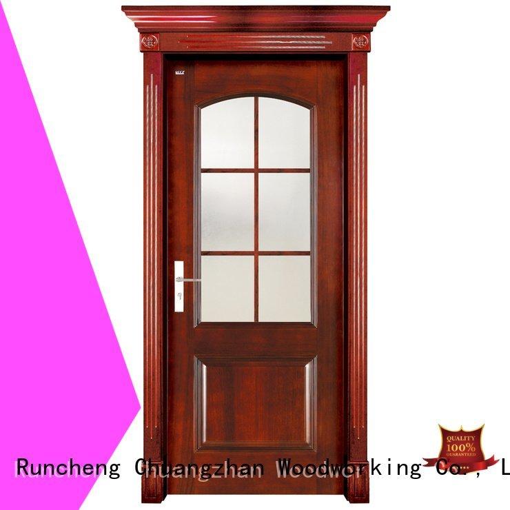 OEM solid wood bifold doors wooden solid solid wood interior doors for sale