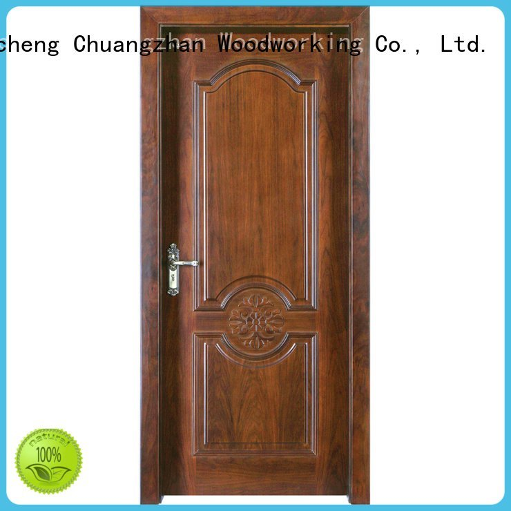 Runcheng Woodworking Brand modern door solid wood bedroom composite door composited solid