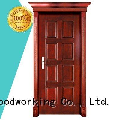 solid wood interior doors for sale pure solid wood bifold doors Runcheng Woodworking Brand