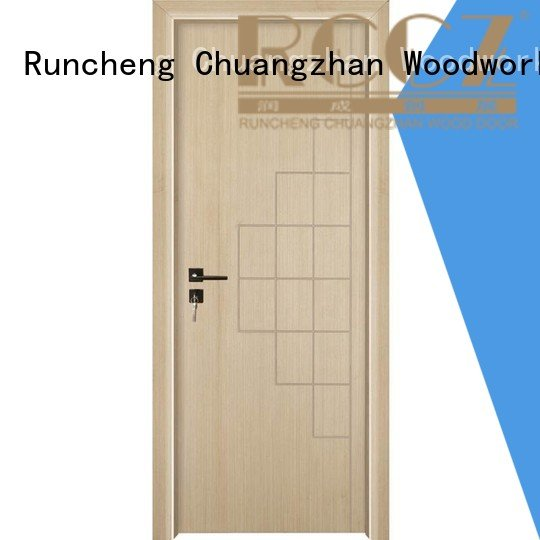Wholesale internal x024 mdf interior doors Runcheng Woodworking Brand