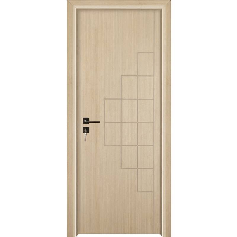PP002 Internal white MDF composited wooden door