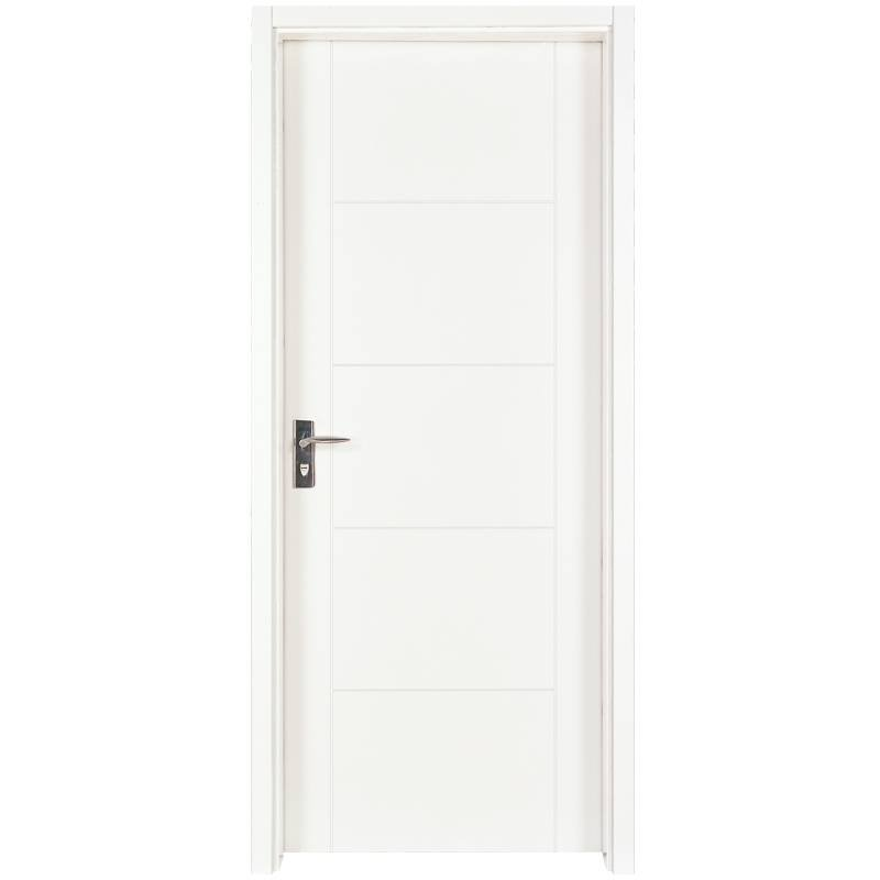 PP003 Internal white MDF composited wooden door