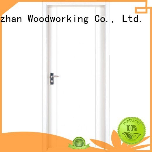 white Runcheng Woodworking mdf interior doors