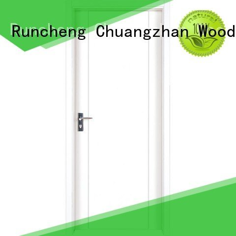 internal white mdf composited wooden door internal mdf interior doors Runcheng Woodworking Brand