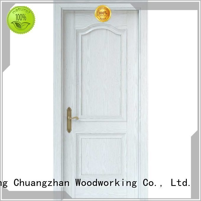 Runcheng Woodworking Brand mdf composited internal white mdf composited wooden door