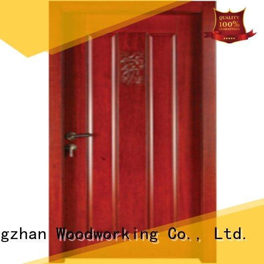 OEM bedroom wooden interior door s011 wood bedroom door designs in wood