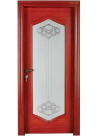 Pure Solid Wood Door S011-3