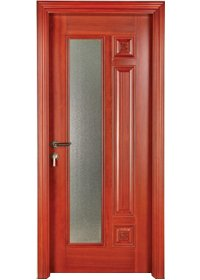Pure Solid Wood Door S008-3